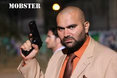 Hamzah Saman as Ido Ran in 'Mobster.' Visit website at www.mobsterthemovie.com. #hollywood #action #mobster #movie