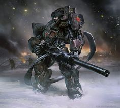 Daryl Mandryk: Communist Mech Armor