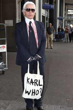 The Karl Who bag from Colette (Vogue.co.uk)