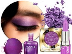 radiant orchid | Radiant Orchid Makeup Color Trends