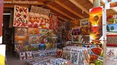 Dominican arts and crafts are available in many local shops and stores. These can be found in the towns and along the beaches. Don't forget to haggle the price it is all part of the experience. http://www.therealdr.com
