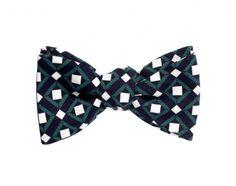 Mark/Giusti Bring Back Time Silk Bow Tie
