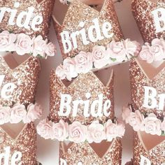Alternative, unique and stylish hen party accessories for the sophisticated bride to be. Perfect for a classy and fun hen do or bridal shower.