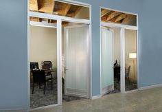 Our swing doors are a unique alternative to traditional office hinged doors…