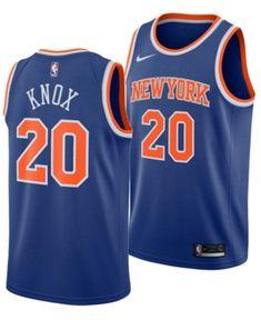 3197df2c2 Nike Men Kevin Knox New York Knicks Icon Swingman Jersey