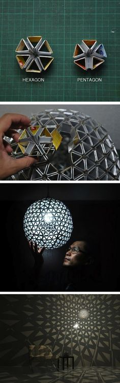 Amazing DIY Cardboard Lamp | SlayMyBoredom