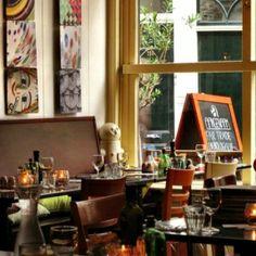 Eetcafé Aangenaam, hier wordt lekker biologisch gekookt #haarlem #aangenaam #biologisch #restaurant