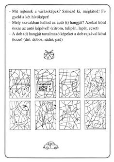 Játék a hangokkal – Borka Borka – Webová alba Picasa Occupational Therapy Activities, Perception, Diy And Crafts, Diagram, Album, Archive, Preschool, Ideas, Occupational Therapy
