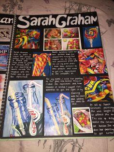 Super Ideas For Gsce Art Sketchbook Photography Gcse Art Sketchbook, Textiles Sketchbook, Sketchbooks, A Level Art Sketchbook Layout, Arte Gcse, Sketchbook Inspiration, Sketchbook Ideas, Sweets Art, Kunst Portfolio