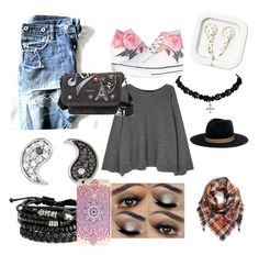 """""""Ella😜"""" by ashley1747 ❤ liked on Polyvore featuring Converse, The Row, Sydney Evan, BP., Janessa Leone and Marc Jacobs"""