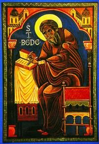Monk of Jarrow, biblical scholar (735)         St Bede, or the Venerable Bede, as he is often called, was born in 673 A.D. on the land of the monastery of Saints Peter and Paul in Wearmouth. At the age of 7 he was entrusted to the care of Benedict Biscop, the founder of the monastery, and then to Ceolfrith who in 681 was appointed Abbot of the monastery's new foundation in Jarrow. Bede spent the rest of his life in the monastery. He was ordained deacon at the age of 19 and priest at 30...