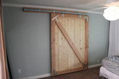 diy solucion puerta cortinas lampara