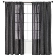Nate BerkusTM Tweed Curtain Panel