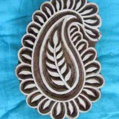 PP03 - paisley pattern design - art stamp