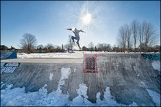 Skateboarding in Canada in November adds an additional element of danger, I mean fun, to an already challenging sport! Winter Sun, Create Image, Skate Park, Great Shots, Skateboarding, Good Times, Portraits, Sports, Photography