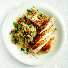 Maple-cider chicken and nutty quinoa recipe - Chatelaine.com