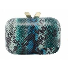 Margo Snake Print Blue