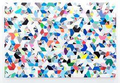 'Chromatic Interations' by Sara Hughes. Ruben Patterson, Key To My Heart, Art Google, Sprinkles, Drawings, Artwork, Geometric Patterns, Artists, Models