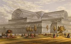The Great Exhibition at Crystal Palace, 1851 | Archexpo. Wish I could have seen it.  http://en.wikipedia.org/wiki/The_Crystal_Palace