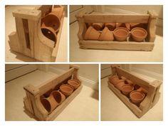decoratie kistje uit rest plankjes pallets