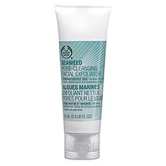 I had the seaweed line for about a good four months. I love this product. This really helped my sink. I've got complements about the products I've been using. I used this once every week or two. Since this is an exfoliator I use this on my body too. This helps my dead skin cells go away.