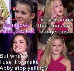 Lol I would use it to make Abby stop yelling lol I can't stop laughing