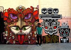 Global Street Artist Places Local People Next to His Murals - My Modern Metropolis