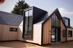 Architect Select® Western Red Cedar vacuum coated with SiOO:X | Private House, Suffolk | Azure Architecture