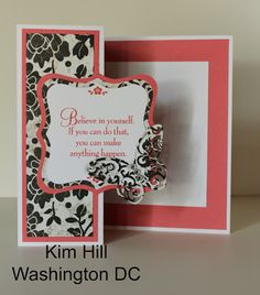 card by Kim Hill using CTMH For Always paper