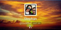Follow back Stephan