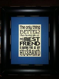 So true! I'm blessed!