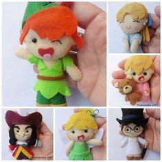 Peter Pan brooch Broche Peter Pan broche Wendy Broche