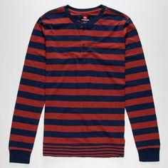 QUIKSILVER Hamilton Mens Tee #quiksilver @Jess Liu Rybarczyk #tee #stripedsweater #allthetime