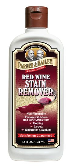 wine stains white clothing with