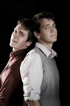 James and Oliver Phelps love these guys