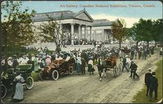 Canadian National Exhibition, 1910...