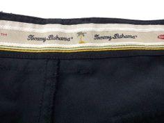 TOMMY BAHAMA RELAX Black Dress Casual Shorts Men's 38 FREE SHIPPING