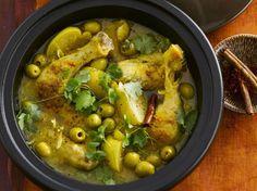 Avec les lectrices reporter de Femme Actuelle, découvrez les recettes de cuisine des internautes : Poulet aux olives et citrons confits