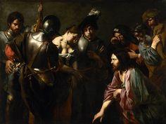 Le Christ et la femme adultère, vers 1618-1622 par Valentin de Boulogne