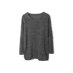 Pure Downy Dark Grey T-shirt(Coming Soon) [NCTJ0586] - $28.99 : ($29) ❤ liked on Polyvore