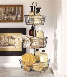 Wire tiered basket