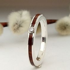 Wood Detail, Engagement Bands, Unisex, Sterling Silver Rings, Wedding Rings, Metal, Jewelry, Happy, Silver Rings