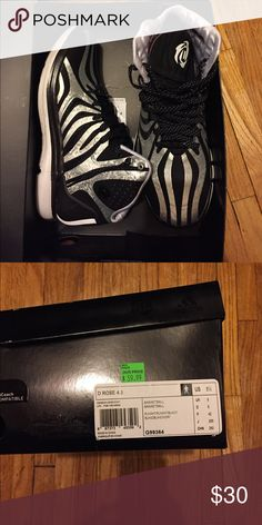 free shipping 79771 4bb09 D rose basketball shoes, adidas Good condition, worn only twice, D Rose  shoes