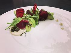 Whole avocado salad. Sometimes simplicity is exacted what you are looking for.