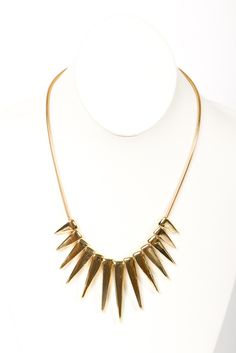 Spikes will never get old to me. Love mixing a fucky piece like this with a very feminine dusty pink blazer, white cami, slightly destroyed skinny jeans in a dark wash and nude bag & pumps.