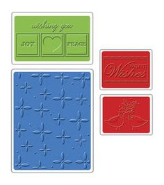 Sizzix 4 Pack Winter