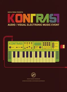 Kontrast - A Nueva Forma Audio/Visual Music Event on the Behance Network