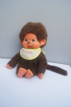 Check out this item in my Etsy shop https://www.etsy.com/listing/241043163/monchhichi-doll-monkey-vintage-monchichi