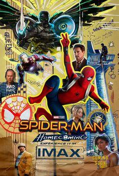 Sony nos muestra un nuevo póster IMAX de Spider-Man: Homecoming con la mayoría de los personajes principales de esta nueva trama.
