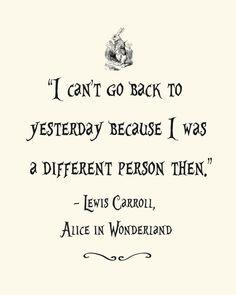 Afdrukbare Alice in Wonderland offerte Poster 8 x 10-2 stijlen